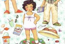 ME-paper dolls / Mary Engelbreit paper doll illustrations