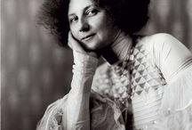 Emilie Flöge / Emilie Louise Flöge (30 August 1874 in Vienna – 26 May 1952 in Vienna) was an Austrian designer, fashion designer, and businesswoman. She was the life companion of the painter Gustav Klimt. / by Jane R. Fink