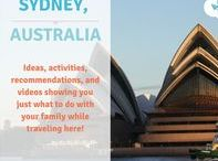 Sydney / Inspiration for family holidays in and around Sydney!