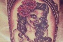 tattoos - el dia de los muertos