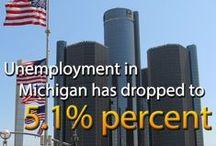 Comeback State / The future is bright for Michigan!  It's great to live in the #ComebackState