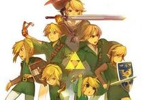 Legend of Zelda! / It's Link not Zelda,  Get it right guys  / by Aya Zahrah