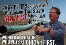 #PetersFail / Is Gary Peters really the best candidate Democrats could find for Michigan's open U.S. Senate seat?