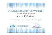 Awards / Different awards our Casa Veintiuno has received so far!