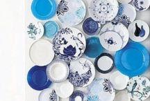 BLUE & WHITE DECOR