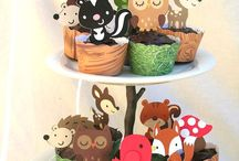 FOREST ANIMALS PARTY INSPIRATION