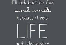 Inspiring Life Quotes / Motivational quotes, pics, etc.
