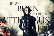 Hunger Games / This has everything in it. From clothes to fan-art to quotes to you name it, most likely it will be here. Enjoy all Hunger Game fans.