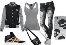 My style / My style is a mix of things. I love the look of cute, sassy outfits for dates or school. On the other hand I love the emo/punk rock look for me time and hanging out with friends. It all depends on how I am feeling that day.