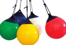 Les Balançoires Ball / Ball est une balançoire gonflée, d'extérieur ou d'intérieur en PVC souple. Let's swing !!