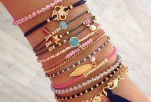 Accessories / Perfect combinations of rings, bracelets, anklets and necklace.