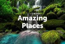 Amazing Places / To explore the world is to enrich the mind. Follow this board and discover beautiful and breathtaking places all over the world.