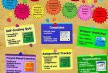 Teacher Tools & Lessons / Tools geared more for teachers, and lesson plan creations or lesson plan directories for inspiration.