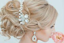 Wedding hair inspiration / Wedding hair ideas