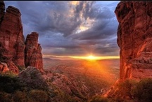 Adventures in the Red Rocks / Red rock spires, monoliths, and formations. Visit Sedona, Arizona for the ultimate red rock vacation!