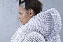 Knitspiration / Inspiring knitwear from the Fashion and Textiles industry. Imaginative and skilled Haute Couture at it's best