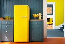 color fridge