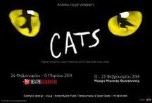 "CATS / 26 Φεβρουαρίου – 15 Μαρτίου 2014 Θέατρο Badminton ""MEMORY"" RETURNS DIRECT FROM LONDON CATS! Το μυθικό μιούζικαλ και ένα από τα μεγαλύτερα όλων των εποχών, η παράσταση που εδώ και τριάντα χρόνια έχει σπάσει κάθε ρεκόρ σε όλον τον κόσμο, έρχεται στην Ελλάδα το 2014."