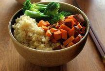 Healthy eating / Foods that help us feel good.