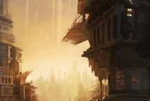 Inspiration - matte painting