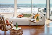 Beach inspirations / Fabrics, furniture and more that are beach inspired.