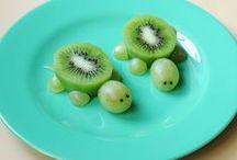 Smakowite fantazje / Pomysły na urozmaicenie maluchom posiłków.