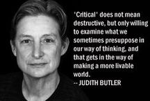 Philosophy & Sociology / A collection of articles, quotes and videos from socilogist and philosophers that I find inspiring. Lots from Slavov Zizek and Judith Butler.