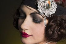 1920s 1930s hair & makeup glamour / All things 1920s 1930s great gatsby styles for hair and makeup