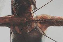 ☽ Tomb Raider ☾ / Lara Croft is a queen. Like I want to be Lara Croft... WHY CAN'T I BE LARA CROFT