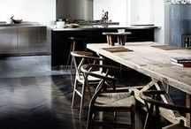 Let's Entertain / Ideas and inspiration to create a cool, minimal dining room.