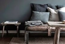 Calming Colour Schemes / Ideas and inspiration to combine colours in the home to create beautiful spaces.