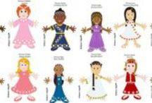 2013 Become a Princess Contest Winners / Contest winners for my first Become a Princess 2013 Contest!
