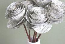 DIY Paper Flowers / DIY Paper Flowers