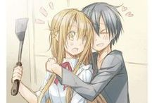 ☽ Sword Art Online ☾ / I have an obsession with this it is so perfect !!