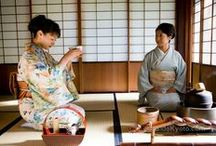 Japanese Ceremonial Matcha Tea / Traditional Japanese Matcha Tea Ceremony. Cultural significance and Japanese style.