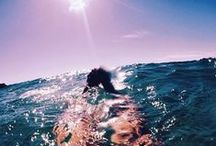 ☽ Life on the Water ☾ / I sort of love the ocean... Or damn even a lake is pretty great❤
