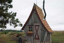 Чудесные дома / Необычные, сказочные, чудесные, прикольные, привлекательные дома