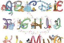 Beautiful things: Alphabets Cross stitch