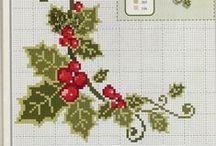Beautiful things: Christmas Cross stitch