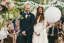 Mimosa - Bohemian Wedding Inspiration / Natural, relaxed outdoor wedding and bridal style ideas.