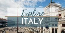 Travel Italy / Explore the Best of Italy | Visit Italy | Italy | Travel Italy | What to Do in Italy | What to See in Italy | Where to Stay in Italy | What to Eat in Italy
