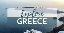 Travel Greece / Explore the best of Greece | Visit Greece | Greece | Travel Greece | What to Do in Greece | What to See in Greece | Where to Stay in Greece | What to Eat in Greece