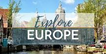 Travel Europe / Explore the Best of Europe | Visit Europe | Europe | Travel Europe | What to Do in Europe | What to See in Europe | Where to Stay in Europe | What to Eat in Europe