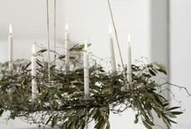 Minimalist Christmas Decorations / Keep it simple this Christmas with these minimalist decorations ideas.