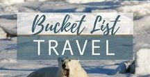 Bucket List Travel / Places I want to see before I die. My bucket list keeps growing - there are so many great places to see across the USA, Europe, new travel hotspots and regions as well as classic bucket list destinations.   The world is full of beautiful places - here are the best travel ideas and things to do across the globe. Travel the world and find adventure wherever you go!
