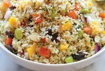 Easy Quinoa Recipes / Let's collect all the food inspiration we can get with quinoa. Vegan and gluten free, this collection of easy recipes contains salads, bowls, burgers, lunch or dinner ideas, even breakfast recipes. There is no limit here.