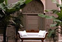 Marrakech | A Good Night's Sleep / Best minimalist, design and boutique hotels and accommodation in Marrakech, Morroco.