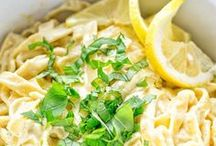 Easy Vegan Pasta Recipes / I create easy vegan pasta recipes that are quick to make for lunch or dinner. I share my best recipes of homemade gluten free food that is perfect for vegetarian, plant-based, and dairy-free diets.