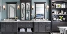 Bathroom Inspirations / All the inspiration you need to create the bathroom of your dreams. For more info visit http://scottmcgillivray.com