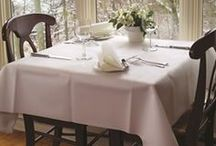 Napkins.com: Tablecloths / Never underestimate the power of a great tablecover!